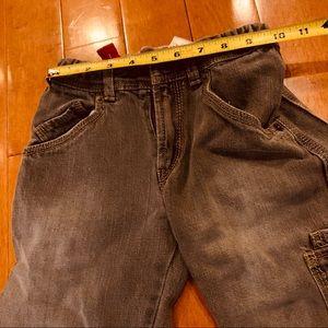 Levis Boys Black Gray Jeans Size 6